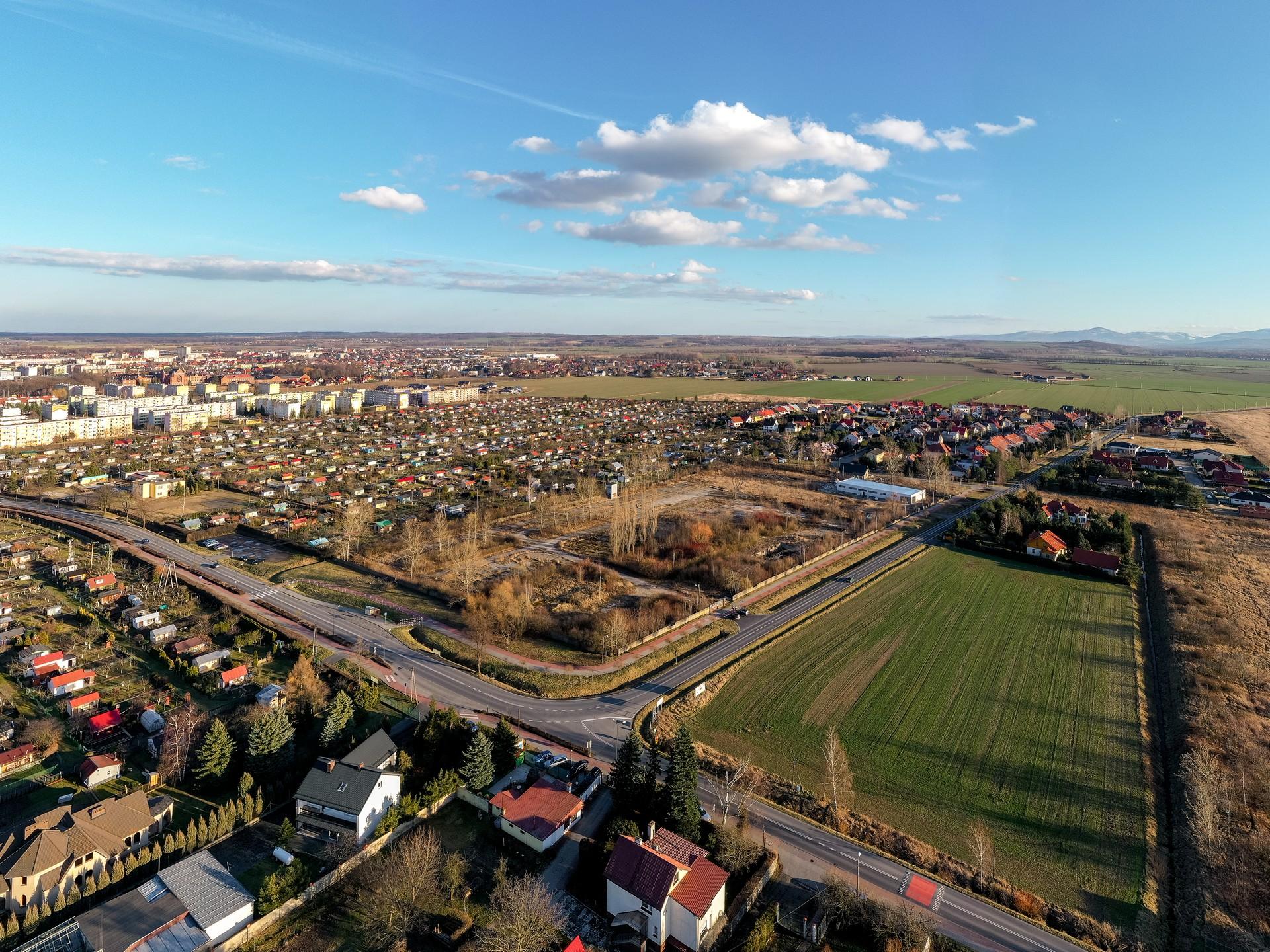 Belweder Park Nysa Zdjecia z Drona 20.02.2020 1