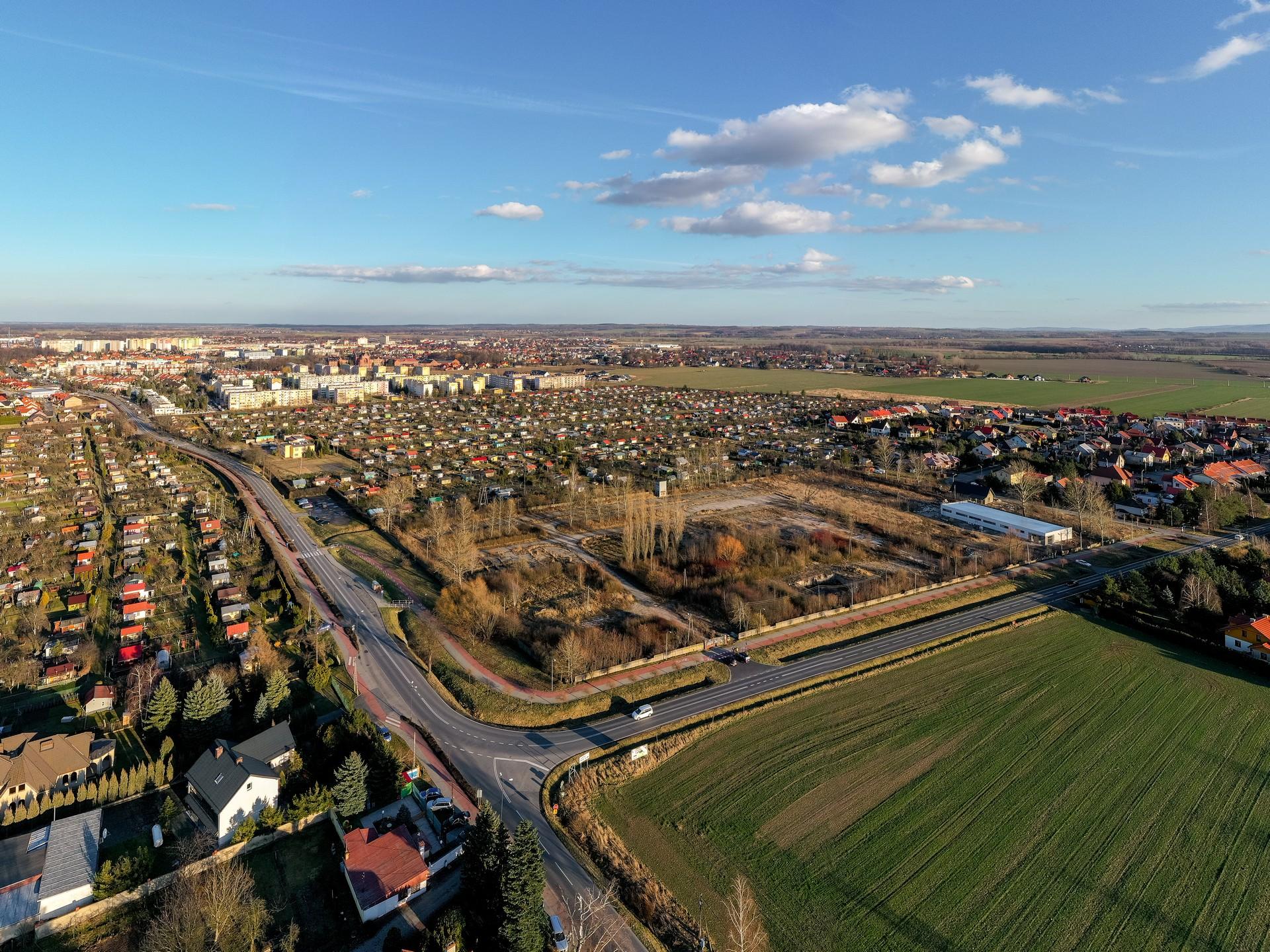 Belweder Park Nysa Zdjecia z Drona 20.02.2020 2