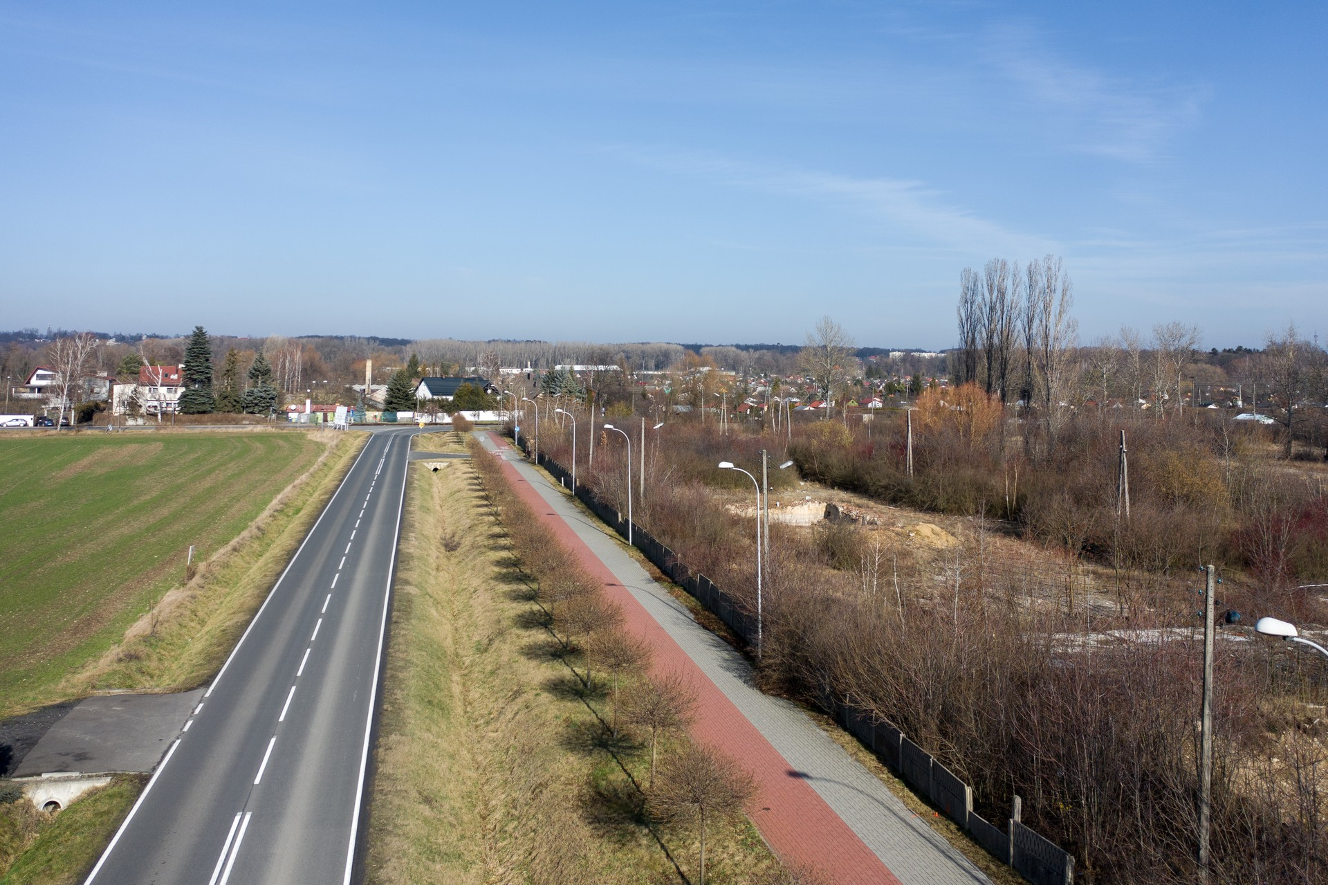 Belweder Park Nysa Zdjecia z Drona 20.02.2020 3