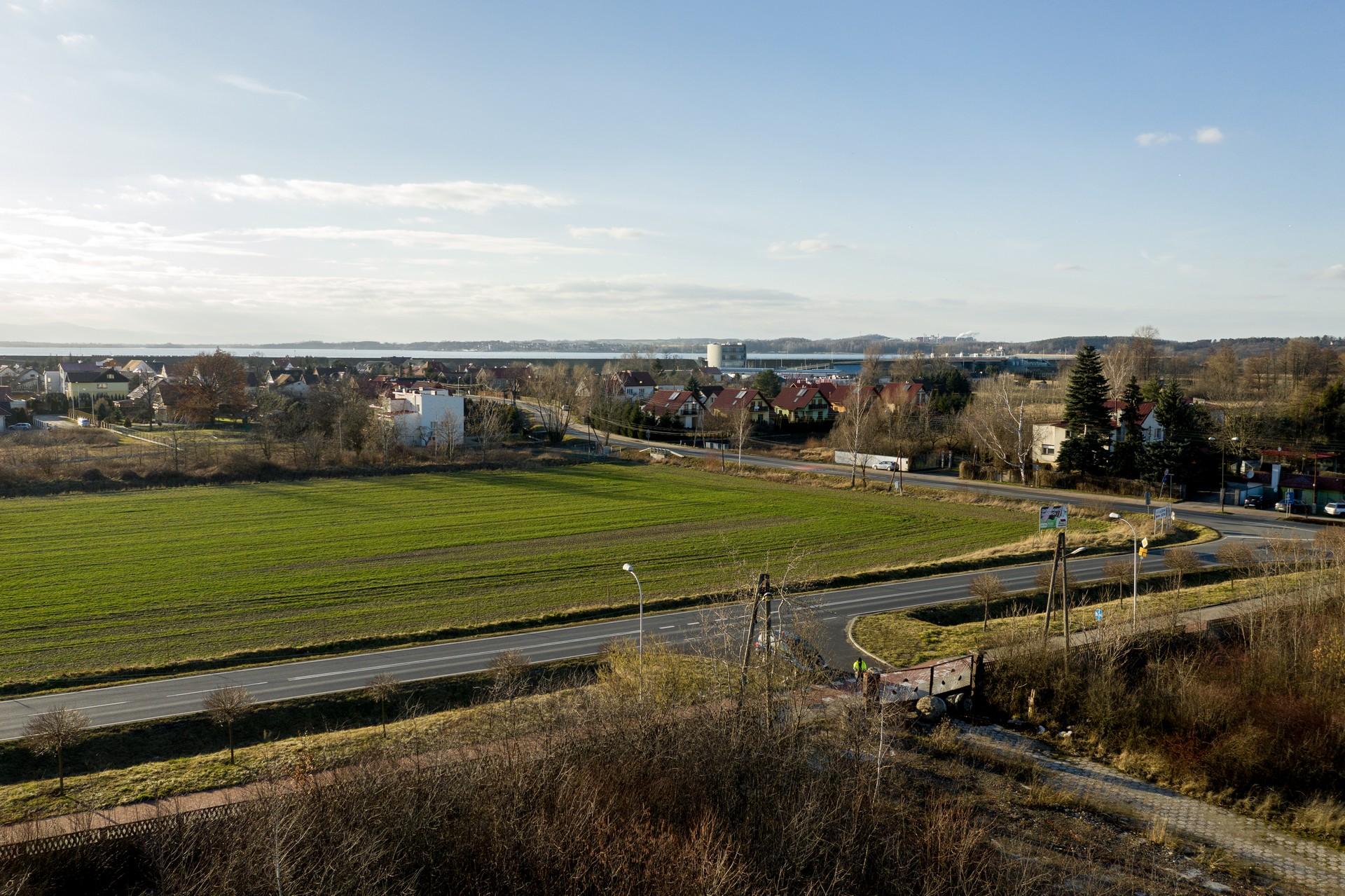 Belweder Park Nysa Zdjecia z Drona 20.02.2020 8