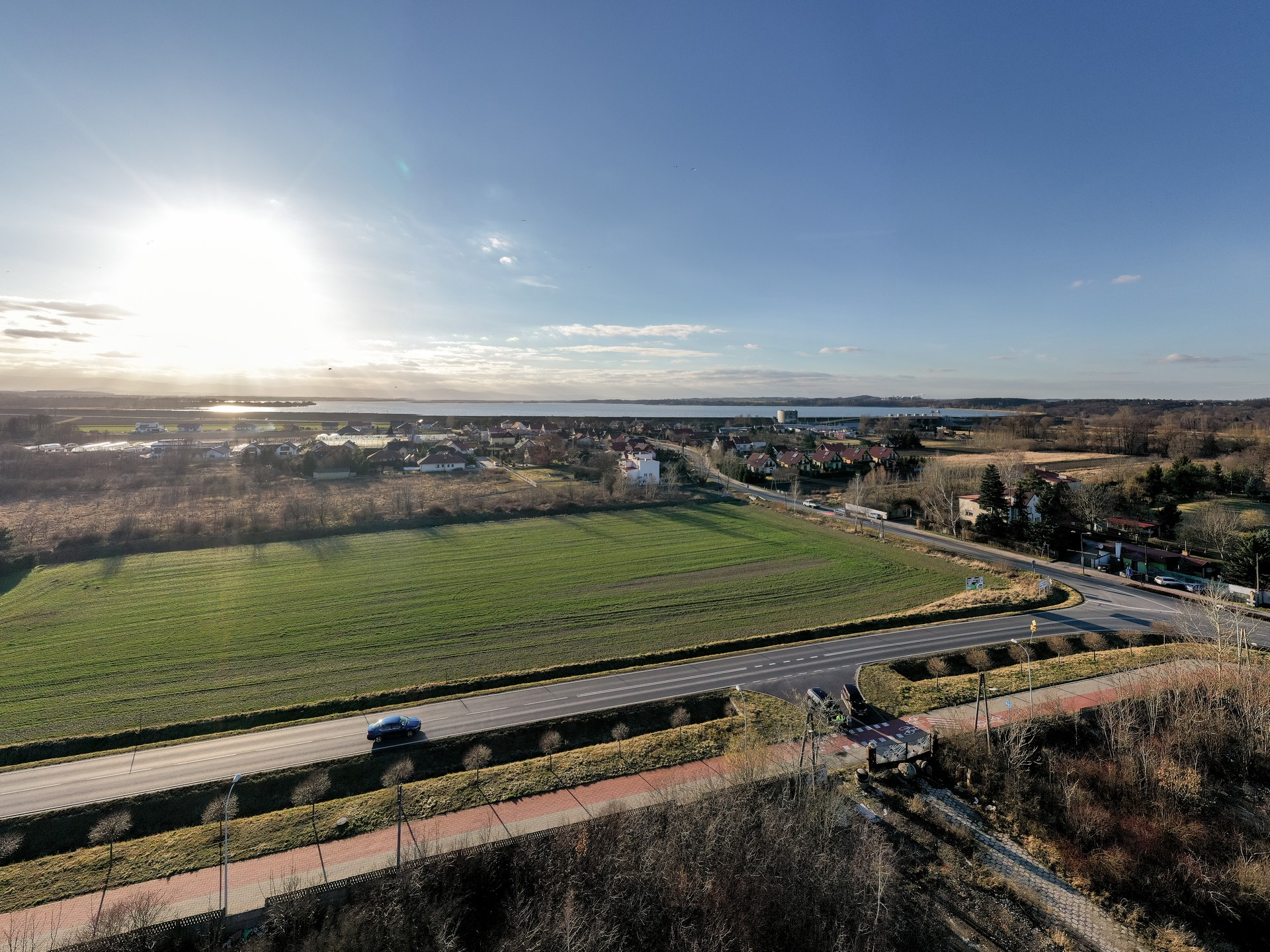 Belweder Park Nysa Zdjecia z Drona 20.02.2020 9