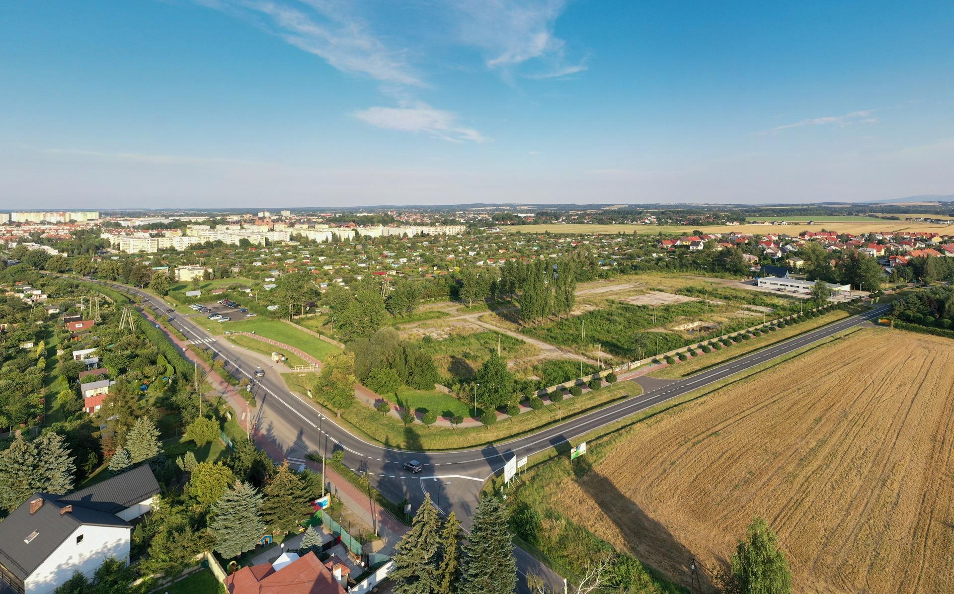 Belweder Park Nysa-Zdjecia z Drona 20.02.2020 10