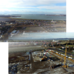 Zdjęcia z wylewania fundamentów budynku A -13.01.2021