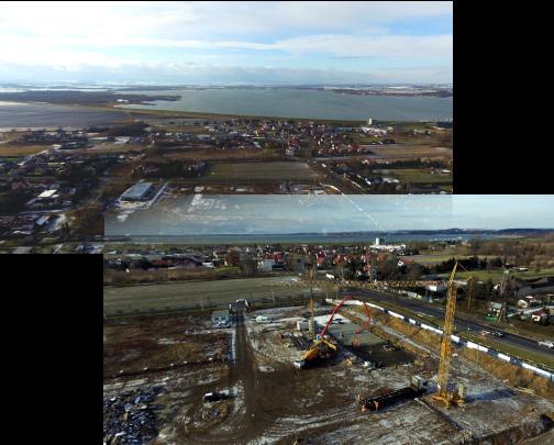 Read more about the article Zdjęcia z wylewania fundamentów budynku A -13.01.2021