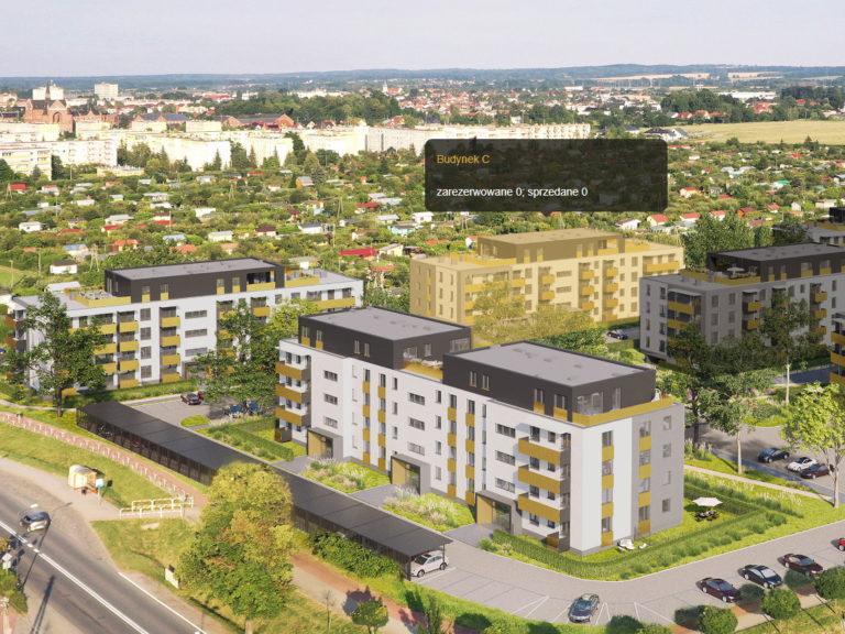 Rozpoczęcie sprzedaży mieszkań Budynku C